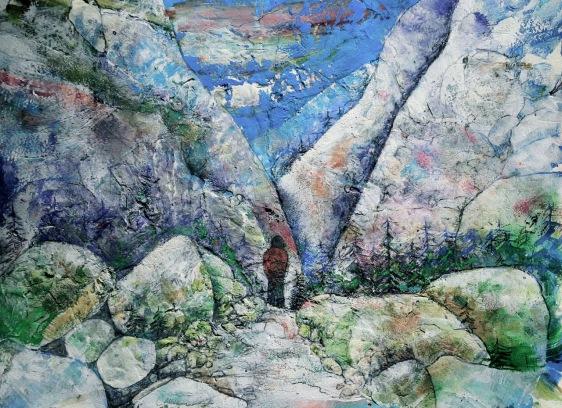 Multi medium Painting by Gord